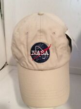NASA Astronaut Space Logo Embroidered Patch Hat Cap Adjustable