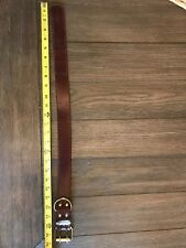 leather dog collar large
