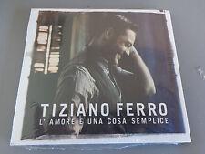 CD N° 5 TIZIANO FERRO COLLECTION L'AMORE E' UNA COSA SEMPLICE CORRIERE SERA