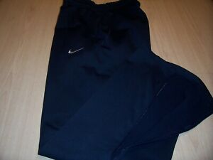 NIKE FIT THERMA BLUE ATHLETIC PANTS MENS LARGE EXCELLENT CONDITION