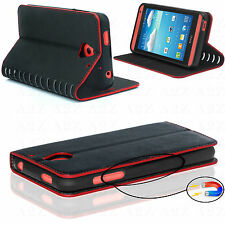 NEW! Designer Case Luxury Leather Flip Wallet Cover For Sony Xperia Range