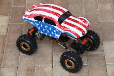 Custom Buggy Body American Flag for Redcat Rockslide / Everest 1/10 Crawler