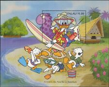 Palau 1994 Disney/Donald Duck/Beach/Tourism/Cartoons/Animation 1v m/s (ad1051)