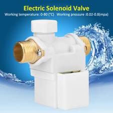 "G1/2"" Electric Solenoid Valve For AC 220V Water Air N/C Normally Closed HighQ"