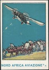 ITALY, 1932. Nord Africa Aviazone S/A, Poster Stamp