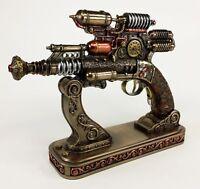Gauss Coil Steampunk Display Pistol Gun Prop Gun W Stand Statue Figurine