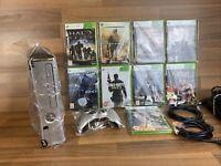 Microsoft Xbox 360 S Halo: Reach Limited Edition Bundle 250gb Games, Pad NewHDMI