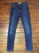 Topshop Moto Skinny Jeans Jamie  Blue Size 10 W28 To Fit L32   S~7