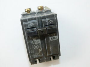 General Electric THQB2150 2p 50a 120/240v Circuit Breaker (Lot of 10) NEW