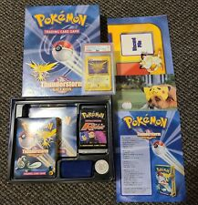 POKEMON THUNDERSTORM GIFT BOX WITH ACCESSORIES AND PSA GRADED ZAPDOS