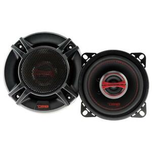 "DS18 GEN-X4 4"" 2 Way Car Stereo Speakers 120W Max 4 ohm Coaxials (Set of 2)"