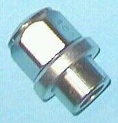 "SLEEVE SHANK TYPE WHEELNUTS M14x1.5 THREAD 19mm dia sleeve (3/4""), flat washers"