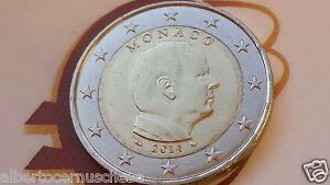 MONACO 2 euro 2014 da rotolino fdc Principe ALBERTO prince albert II Монако