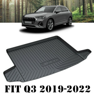 Heavy Duty Trunk Cargo Mat Boot Liner Luggage Tray Fit Audi Q3 & RS Q3 2019-2022