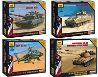 ZVEZDA U.S. Military Vehicles / Tanks / Armed Forces Model Kits 1:100 Unpainted
