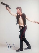 HARRISON FORD AUTHENTIC SIGNED STAR WARS 16X12 PHOTO AFTAL#198