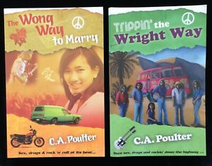 The Wong Way to Marry Trippin the Wright Way CA Poulter 1970s 80s New Zealand