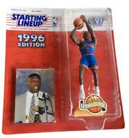 NBA Starting Lineup SLU Larry Johnson Action Figure Extended Series Knicks 1996