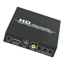 SCART to HDMI Converter PAL/NTSC Upscaler Support HDMI Connector Output