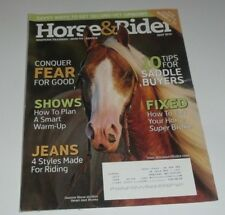 Horse & Rider - May 2010 Saddle Buyer Tips, Riding Jeans, Lyle Lovett's Reiner