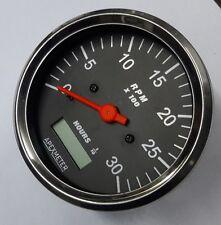 0-3000 Rpm Tachometer Ignition coil / Alternator / Magnetic pickup Driven 100mm