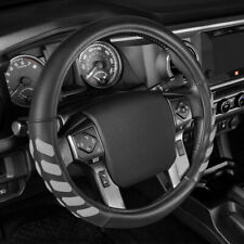 Truck Steering Wheel Cover Large Size for 15.5-16.5 Inch Size by CATERPILLAR