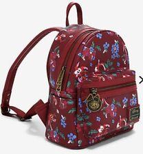 New Loungefly Disney Mulan MUSHU Faux Leather Mini Backpack!