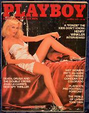 "Magazine PLAYBOY August 1977 !!!PATTI McGUIRE-NUDE!!! ""JULIA LYNDON-CENTERFOLD"""