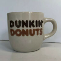 Rego Collectible Retired Dunkin Donuts Logo Vintage Small Coffee Mug Cup VGC