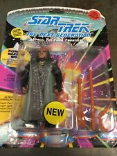 More details for star trek collectable figures from playmate uncarded klingon warrior worf