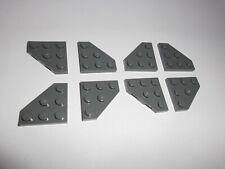 Lego (2450) 8 schräge Platten 3x3, in dunkelgrau aus 10248 8039 7678 6211 8681