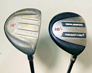 Orlimar Trimetal 3 & 5 Wood Right Hand Graphite Regular Flex Fairway Woods