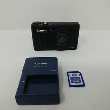 Canon PowerShot S100 12.1MP Digital Camera - Black
