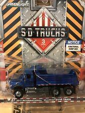 Greenlight  SD TRUCKS 2017  International Workstar Dump Truck    blue