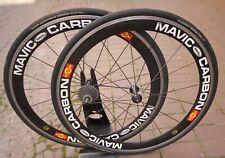 """Mavic Cosmic Carbon SSC 9/10S Shimano Clincher 28"""" 700C Laufräder œ Drahtreifen"""