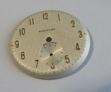 Piece Watchmaking Watch Dial Curved Grey Diameter 1 3/32in With Seconds