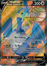 Pokemon - Nigosier V - Full Art  Ultra Rare - 198/202 EB01 Epee Bouclier  - VF