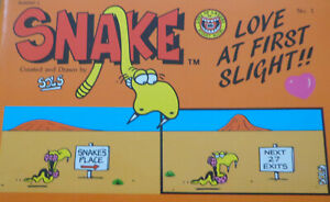 Snake Love at First Slight by Sols (Paperback 1987)