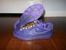 NIKE AIR TROUPE DANCE LOW 324923 500 Shoes Size 6.5 Women 37.5 EUR Purple/Gold