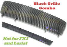 06 08 07 2006 2007 2008 Ford F-150 F150 Black Billet Grille Combo