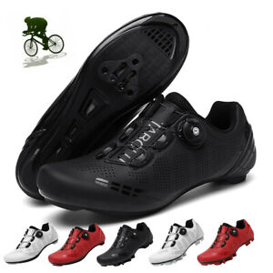 Bike Cycling Shoes Men Outdoor Professional Racing Road SPD Pedal Bicycle Shoes