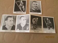 1965/66 Coke NHL Hockey Cards LOT OF 10 MOSTLY RANGERS WITH GILBERT,DELVECCHIO