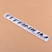 TITANIUM Car Emblem Chrome Badge Sticker Fit for Ford Kuga Mondeo