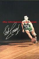 BOB COUSY BOSTON CELTICS 6x NBA CHAMPIONS SIGNED 12x18 POSTER PHOTO REPRINT RP