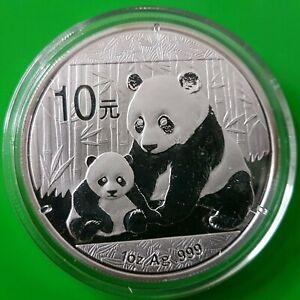 10 Yuan China Panda 2012 - 1 Unze Silber 999 in Kapsel