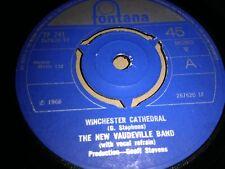 """El nuevo vodevil banda """"Winchester Catedral"""" 7"""" Single Fontana 1966 ex"""