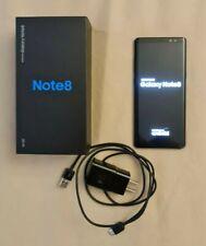 Samsung Galaxy Note 8 SM-N950U - 64GB - Midnight Black (Verizon) w/ Original Box