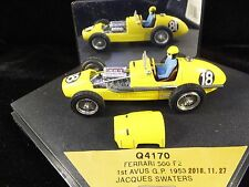 1/43 Quartzo Ferrari 500 F2 1st place Avus 1953