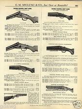 1931 PAPER AD Lefever Super Nitro Special Hammerless Trap Shotgun 12 16 Gauge