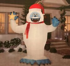 CHRISTMAS BUMBLE ABOMINABLE SNOWMAN RUDOLPH REINDEER AIRBLOWN INFLATABLE 8' FT